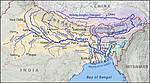 孟加拉蒙希甘杰帕德玛河公铁两用帕德玛大桥