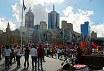 墨尔本护火炬游行 Melbourne Torch Relay Assembly
