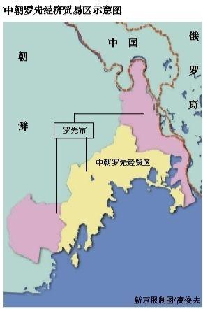 朝鲜罗先经贸区管委会成立 中朝共同管理