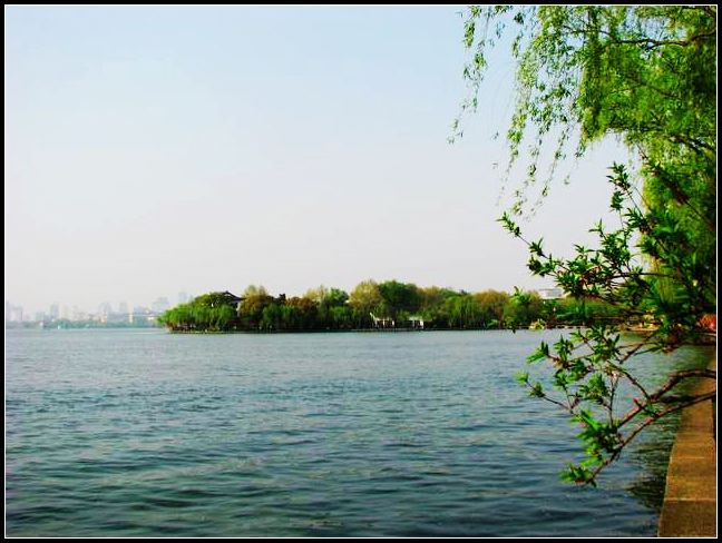 返乡记----西湖四月天