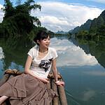 坐在竹排上——回味阳朔那山、那水、那景