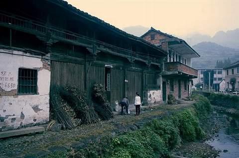 俞源古村:中国唯一的太极星象村(转)