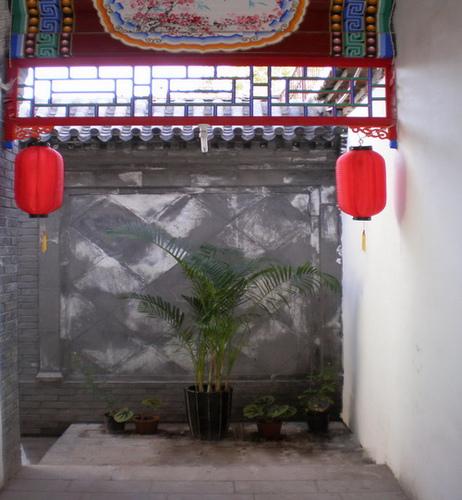 北京后海附近有家非常有老北京特色的四合院