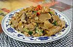 小Wei美食--家乡的炒碱水粑