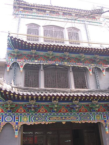 中国的古代建筑十种类型 中国西安学习巷
