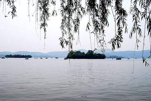 美丽安静的杭州
