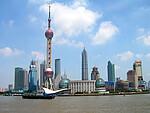 北京奥运会火炬接力途经城市:上海市
