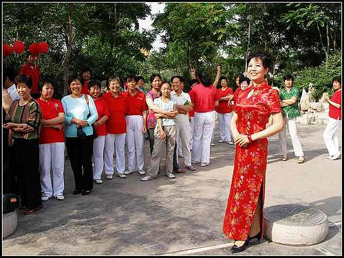 峰峰矿区激情广场成立两周年庆典