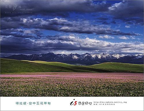 触摸天堂的七彩——2008新疆伊犁谷地摄影休闲之旅