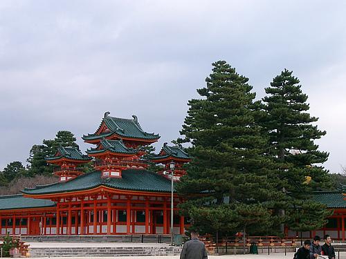美丽的京都之平安神宫