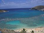 蓝色的夏威夷