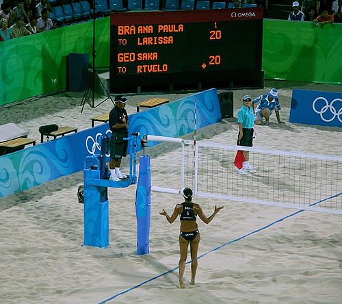 奥运赛场纪实——就是一个大PARTY