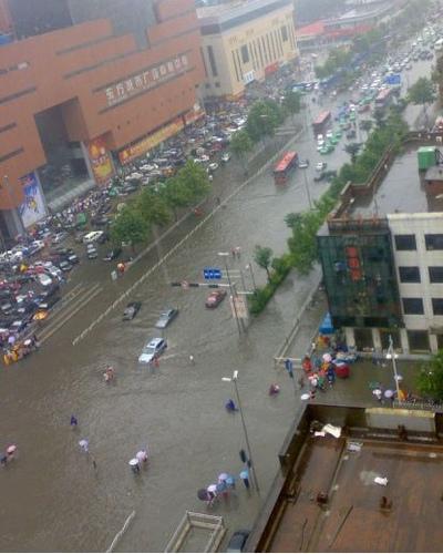 石家庄昨天的雨好大啊!!!