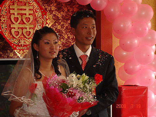 在高原参加婚礼