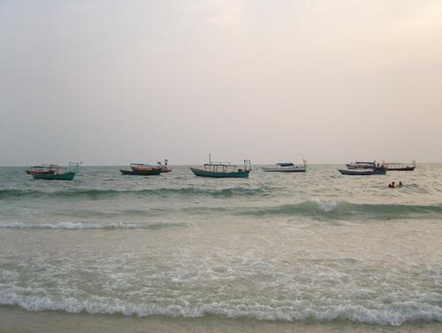 柬埔寨之旅—南海岸线上的西哈努克港!