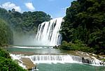 黄果树奇观飞瀑(贵州)