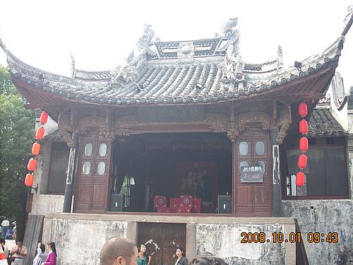 乌镇 古戏台