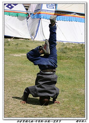 目标拉萨穿越之旅(8月25日)日喀则--拉孜--望果节