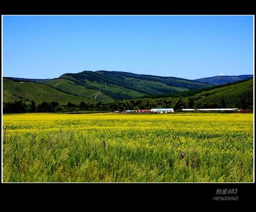【原创摄影】阿尔山的蓝天