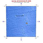 2008年10月21日晚上20点21分阿森松岛海域发生5.1级地震