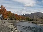秋天的新都桥