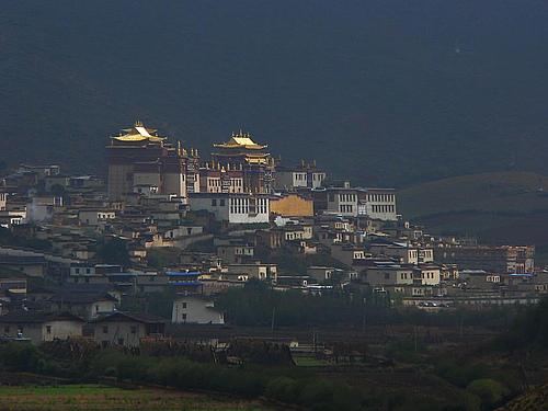 2008年国庆黄金周香格里拉、丽江之行(第四部分)——松赞林寺之行