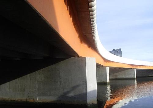 澳大利亚墨尔本雅拉河查尔斯格里姆斯大桥