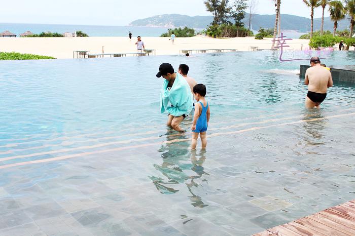 ♡幸福の时光♡七月三亚亲子游图文版详解--『Ritz无边泳池篇』