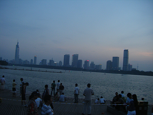 游,在南京(图)