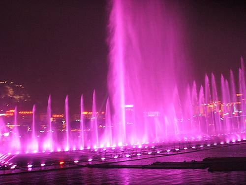 那些事 柳州的喷泉