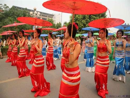 去过2010西双版纳泼水节了(暨傣历1372新年节)