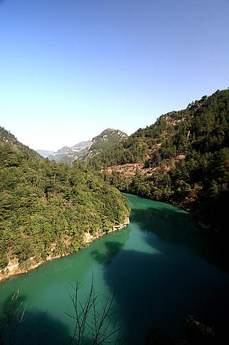 浙西大峡谷自驾游