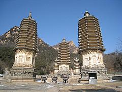 2010年3月6日年票游 北京郊区游 --------- 银山塔林