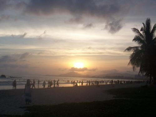 海南三亚的碧海蓝天和倾城阳光