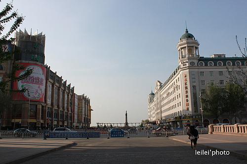 魅力哈尔滨——防洪纪念塔