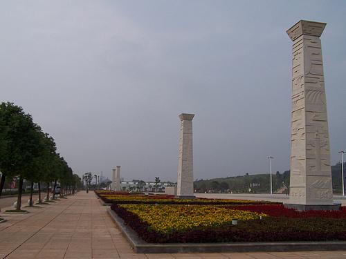 攸县休闲好去处:攸洲广场