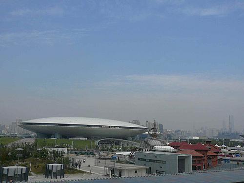 再度上海行(3)---震撼3D月亮船沙特館