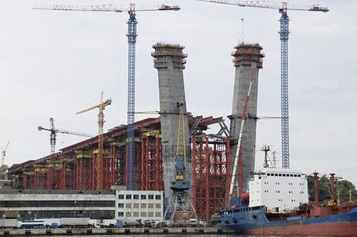 俄罗斯海参崴金角湾大桥