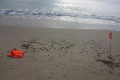 三亚旅行义工第一站~~幸福湾