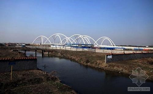 上海青浦淀山湖大道西大盈港双桥