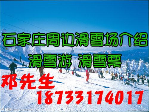 石家庄到西柏坡滑雪春节特价一日游【春节特色出游活动】