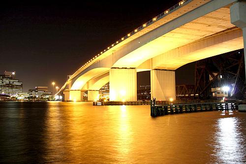 美国佛罗里达杰克逊维尔圣约翰河阿科斯塔大桥