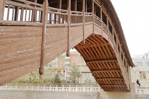 甘肃定西渭源清源河灞陵桥
