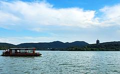 西湖外事游船(环湖):成人票(花港观鱼码头上船)