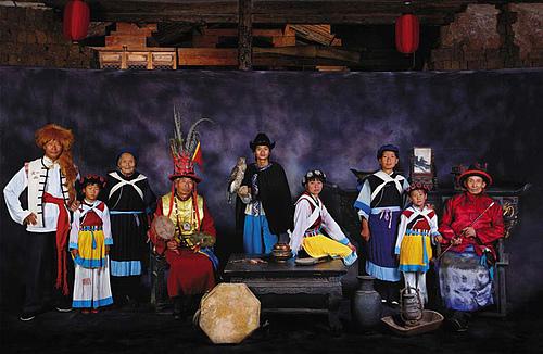 东巴文化在丽江