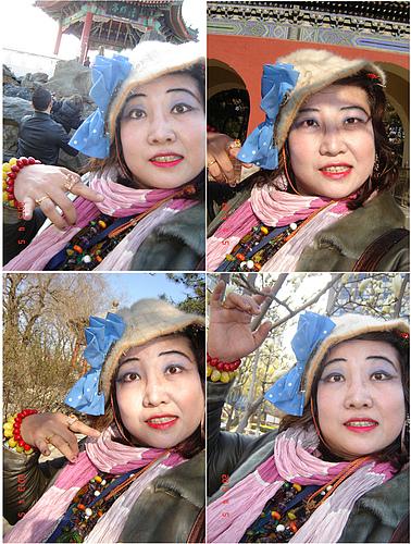 我的缱绻靓丽摄魂夺魄的北京市日坛公园旅游