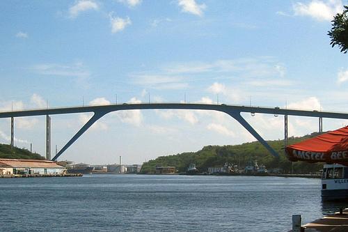 荷属库拉索威廉斯塔德朱丽安娜女王大桥