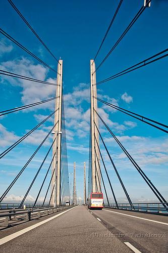 丹麦瑞典厄勒海峡大桥