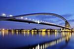 德国巴登符腾堡莱茵河畔魏尔三国桥
