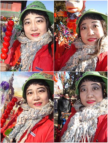 马年春节我畅游繁华璀璨缤纷缱绻的北京地坛庙会